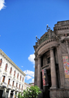 Quito, Ecuador: Numismatic Museum of the Central Bank - architect Francesco Durini - Casa Museo Maria Augusta Urrutia - corner of  Calle Ant�nio Jos� Sucre and Calle Gabriel Garcia Moreno - Museo Numismatico del Banco Central - photo by M.Torres
