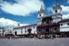 Ecuador - Quito: Plaza and church de San Francisco - photo by J.Fekete