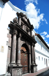 Quito, Ecuador: Colégio Sagrados Corazones - College of the Sacred Hearts - Calles Sucre and Guayquil - former University of Saint Thomas - photo by M.Torres