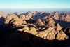 Egypt - Sinai: Sinai mountains as seen from the Jebel Musa summit (photo by Juraj Kaman)
