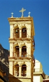 Egypt - Belfry of St Catherine Monastery - Unesco world heritage site (photo by Juraj Kaman)