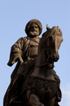Egypt - Alexandria: Mohammed Ali Pasha of Egypt, Syria, and Arabia - equestrian statue (photo by John Wreford)