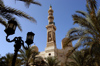 Egypt - Alexandria:  Abu Abbas al Mursi mosque - Al Anfushi district (photo by John Wreford)