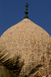 Egypt - Alexandria:  Abu Abbas al Mursi mosque - dome decoration (photo by John Wreford)