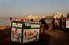 Egypt - Alexandria: ice cream cart on the Corniche (photo by John Wreford)