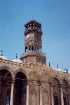 Egypt - Cairo: cast iron clock tower - mosque (photo by Miguel Torres)