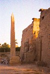 Egypt - Luxor / El Uqsor / LXR: the pharaohs and the obelisk (photo by Miguel Torres)