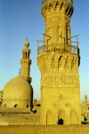 Egypt - Cairo: Muhammad an-Násira mosque - minaret (photo by J.Kaman)