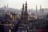 Egypt - Cairo: Minarets of the Old Islamic Cairo - Unesco world heritage site (photo by J.Kaman)