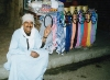 Cairo: scarf vendor (photo by J.Kaman)