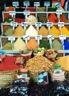 Egypt - Aswan: colorful spices (photo by J.Kaman)