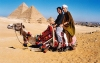 Egypt - Giza: ready for a desert ride - camel (photo by J.Kaman)