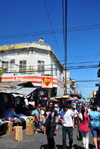 San Salvador, El Salvador, Central America: street scene on Calle Arce - photo by M.Torres