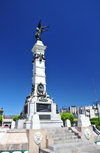 San Salvador, El Salvador, Central America: Parque Libertad - Liberty monument - the park was created to mark the centenary of 'the Cry for Freedom' - photo by M.Torres