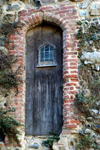 Suffolk: an old castle door stands the test of time - photo by F.Hoskin