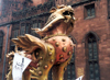 Manchester, North West, England: day of the dragon on Deansgate - photo by M.Torres