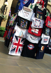 London, England: T-shirt stall - photo by K.White