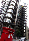 London: LLoyds building amd Royal Mail - City - London's main financial district - photo by K.White