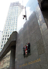 London: the Stock Exchange building - LSE - the city - photo by K.White