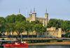 London: Tower of London seen from across the Thames river - photo by M.Torres