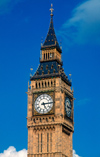 London, UK: Big Ben - classical image - Clock Tower, Palace of Westminster - photo by B.Henry