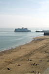 England (UK) - Ramsgate (Kent): the Primrose approaches the port - Trans Europa Ferries (photo by Kevin White)