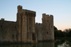 Robertsbridge, East Sussex, South Eeast England, UK: Bodiam castle, built in 1385 by Sir Edward Dalyngrigge - photo by K.White