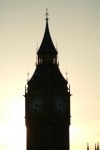 London: Big Ben at sunset - Clock Tower, Palace of Westminster - photo by K.White