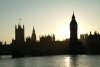 London: Houses of Parliament at sunset - City of Westminster - photo by K.White