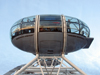 London: British Airways London Eye - bubble - passenger capsule - pod - photo by K.White