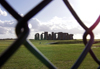 Stonehenge (Wiltshire): through the fence (photo by Kevin White)