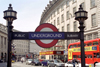 London: subway - metro - underground - Piccadilly Circus station (photo by M.Bergsma)