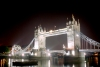 London: Tower bridge and the Thames River - nocturnal - photo by M.Bergsma