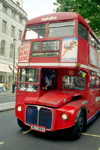 London: double-decker bus - photo by M.Bergsma