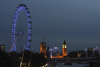London, England: London Eye, Houses of Parliament, Big Ben - nocturnal - photo by A.Bartel