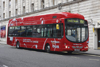London, England: Hydrogen Bus  street scene - photo by A.Bartel