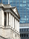 London, England: Bank of England facade - photo by A.Bartel