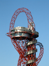 London, England: Orbit, Olympic Park - structure and platform, Stratford - photo by A.Bartel