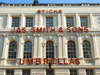 London, England: Umbrella Shop facade - James Smith and Sons - photo by A.Bartel