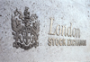 London: the Stock Exchange building - LSE - logo - photo by A.Bartel