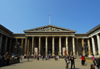 London: British museum - southern façade - architect, Sir Robert Smirke - Great Russell Street - Camden - photo by M.Torres