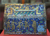 London: British museum - Thomas Becket reliquary - Limoges enamel - photo by M.Torres