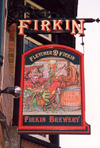 England (UK) - Nottingham (Nottinghamshire): merry Robin pub - Firkin brewery (photo by Miguel Torres)
