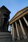London: Royal Exchange and war monument - architect Sir William Tite - City of London - photo by M.Torres