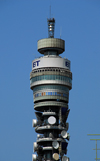 London: BT Tower - architect Eric Bedford - Cleveland Street, Camden - TV Tower - photo by M.Torres