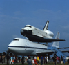 Stanstead Mountfitchet, Essex, England: Space Shuttle,  Jumbo Jet, Lodon Stanstead Airport - photo by A.Bartel