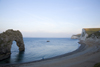 Durdle Door, Dorset, England: the gate and the beach - UNESCO World Heritage Site - photo by I.Middleton