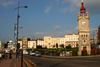 Margate, Kent, South East England: Clock Tower on the seafront, erected in honour of Queen Victoria- photo by I.Middleton