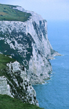 England (UK) - Dover (Kent): the white cliffs of Kent - North Downs formation - English Channel - La Manche - Strait of Dover - photo by J.Banks