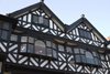 Chester, Cheshire, North West England, UK: gables of old store buildings - photo by I.Middleton